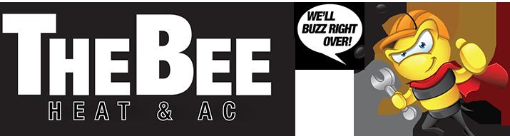 The Bee Heat & AC Logo